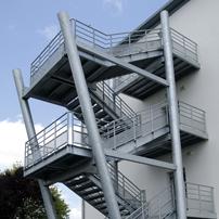Escaliers secours